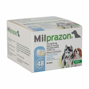 Milprazon small dog