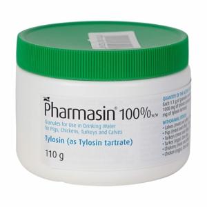 Pharmasin granules